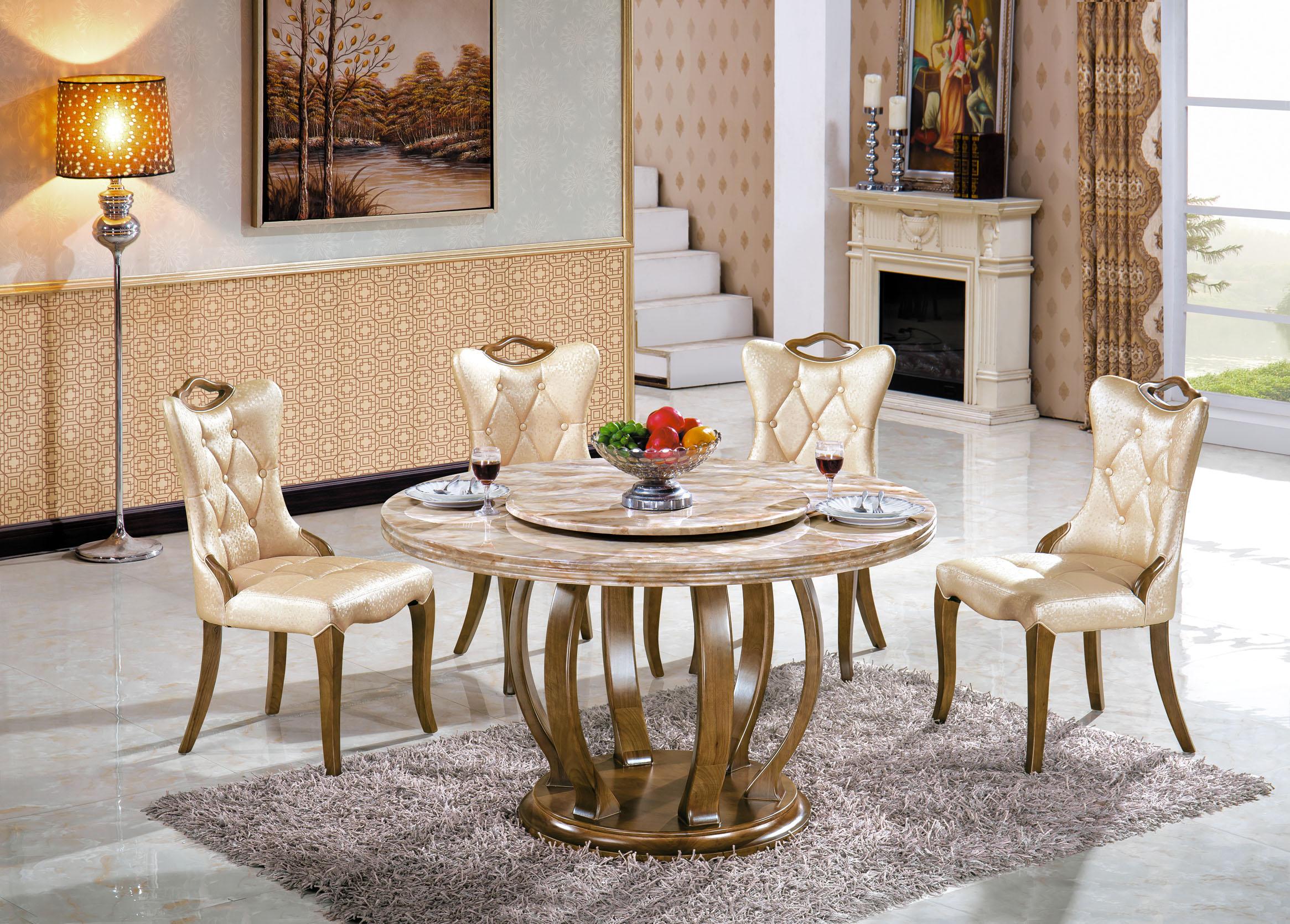 Sử dụng dạng bàn tròn trong thiết kế nhà đẹp giúp tiết kiệm diện tích hơn