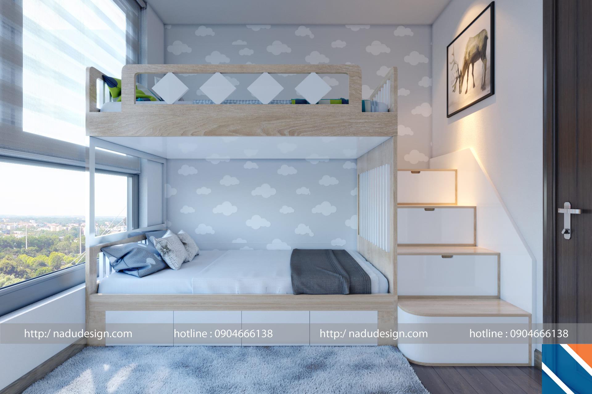 Lựa chọn thảm trải sàn phòng ngủ bé trai