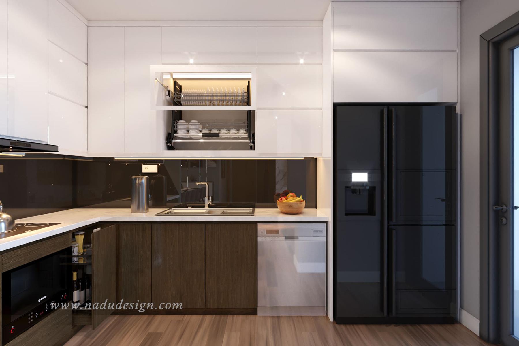 thiết kế nội thất cho phòng bếp