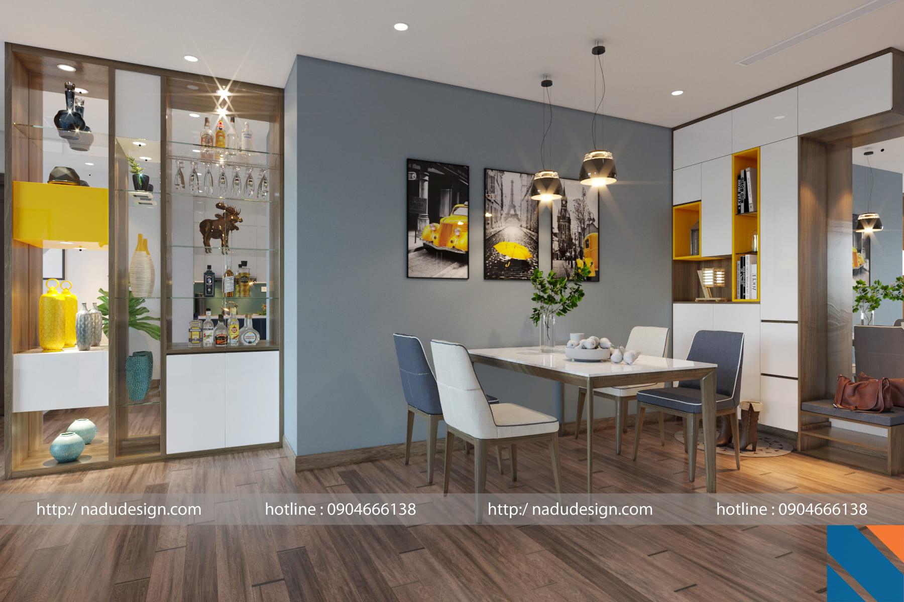 Thiết kế nội thất chung cư 100m2 đơn giản mà đẹp