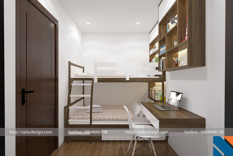 Độc đáo ý tưởng thiết kế nội thất chung cư 3 phòng ngủ