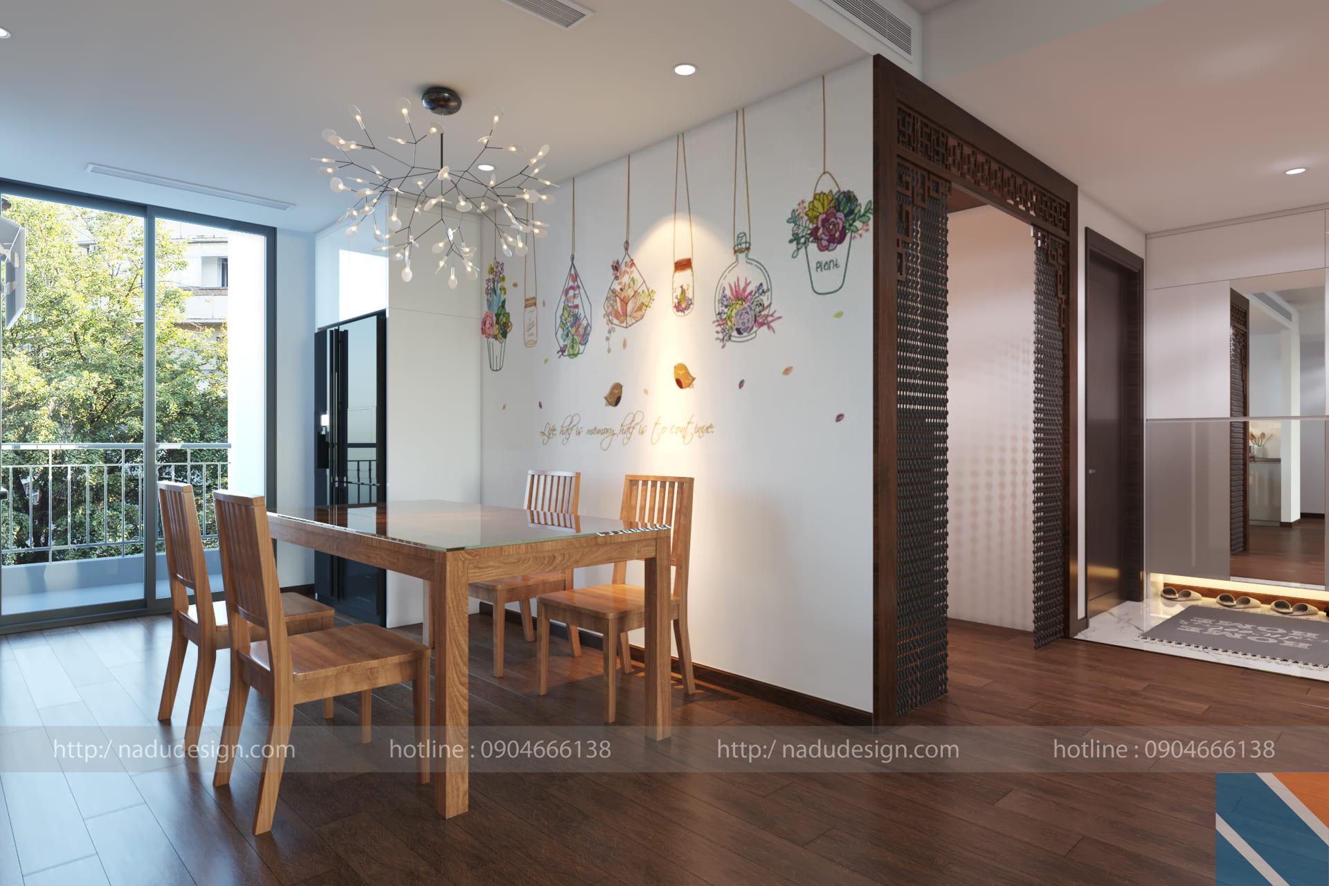 Thiết kế nội thất chung cư Cầu Giấy anh Đức