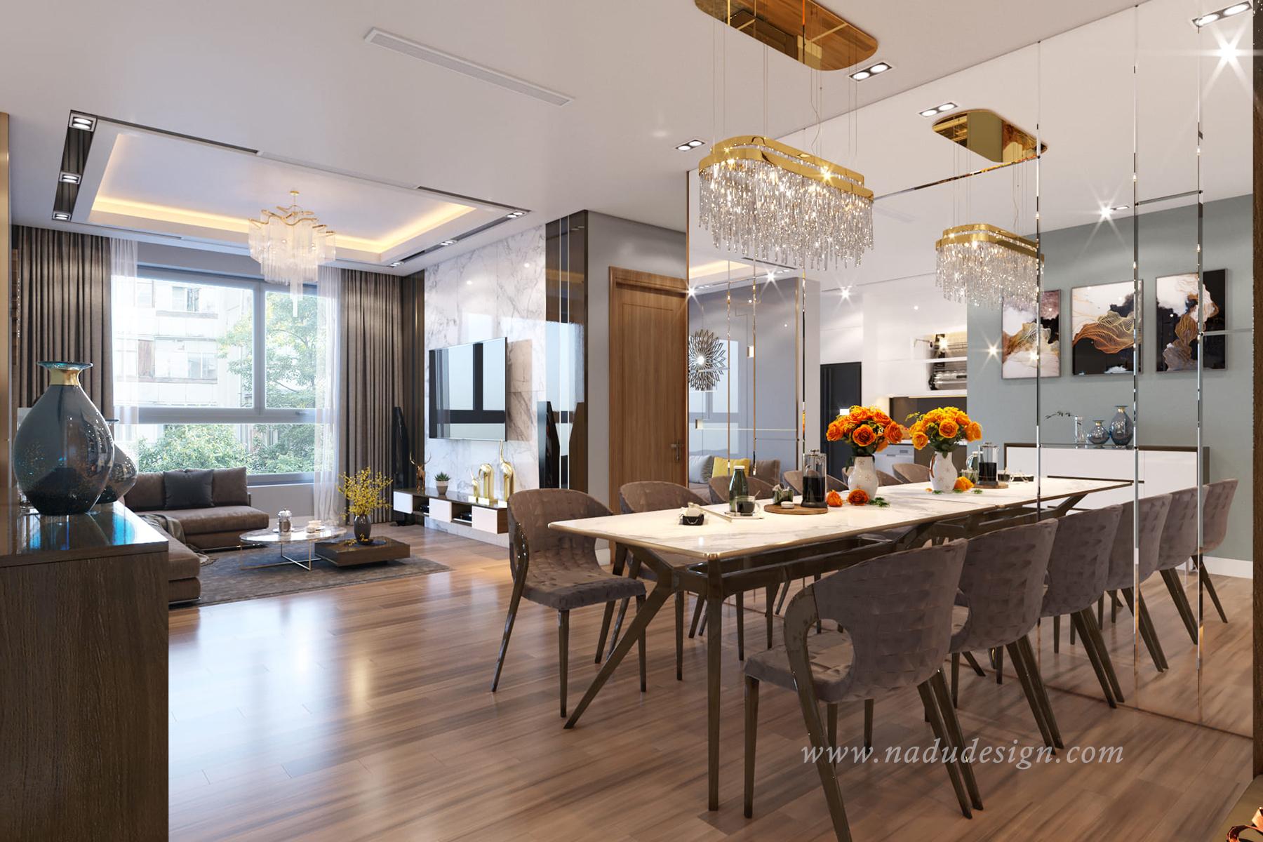 thiết kế thi công nội thất chung cư trọn gói cao cấp