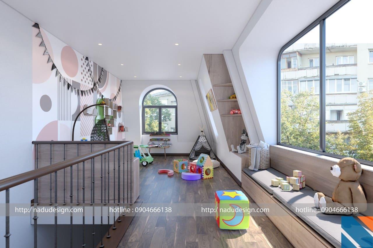 Thiết kế nội thất chung cư cao cấp Greenbay anh Quỳnh ảnh 2