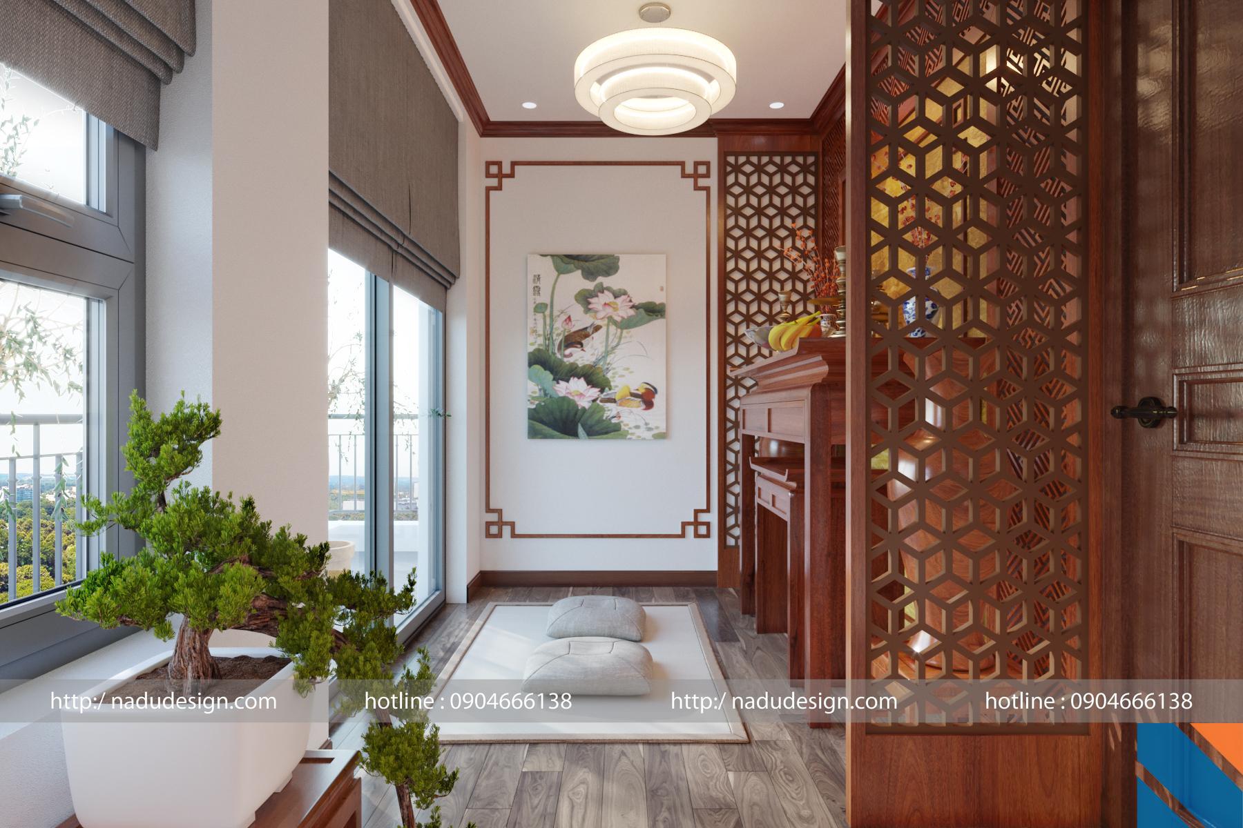 Thiết kế nội thất chung cư cao cấp Greenbay anh Quỳnh