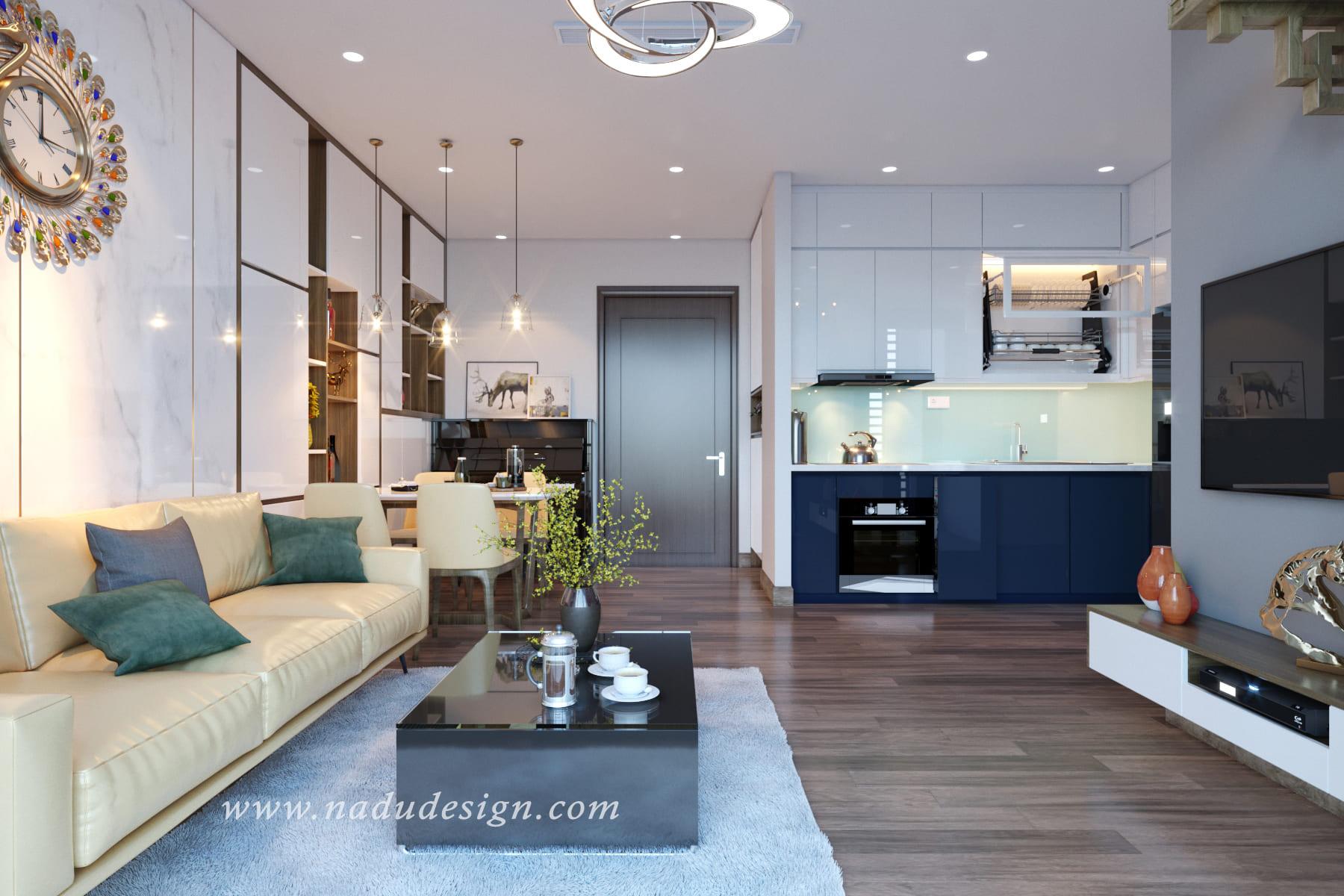 Bảng giá thiết kế nội thất chung cư