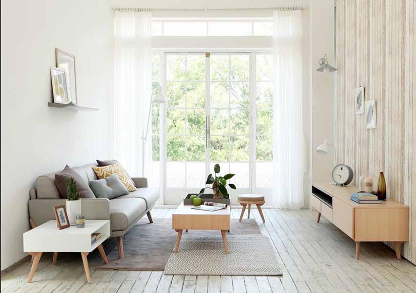 thiết kế nội thất chung cư 45m2 phong cách hàn quốc