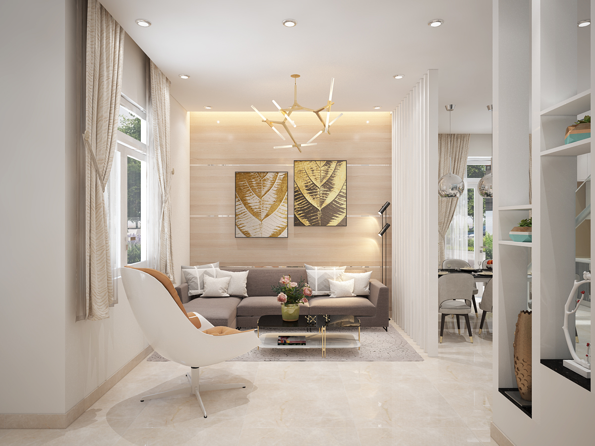 Thiết kế nội thất nhà ống nên chú trọng ánh sáng
