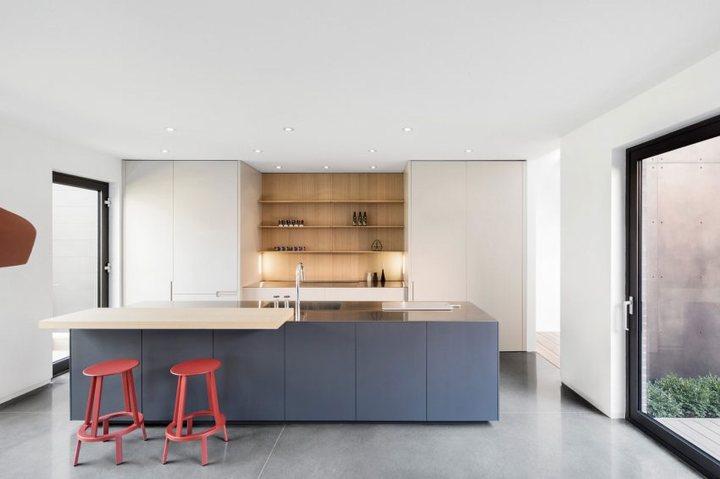 thiết kế nội thất nhà phố tối giản