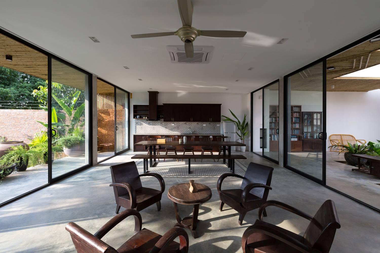 Thiết kế nội thất truyền thống đem hơi thở của làng mạc vào từng không gian