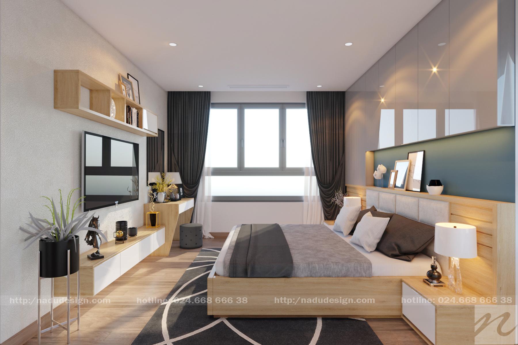 Mẫu thiết kế nội thất 25m vuông đẹp sang trọng