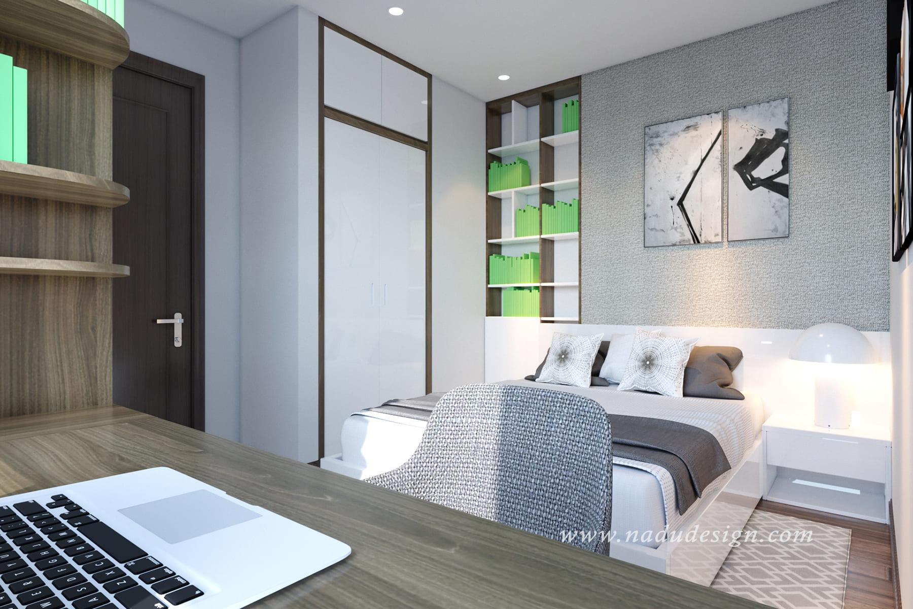 Thiết kế phòng ngủ master nhỏ cần chú ý gì?
