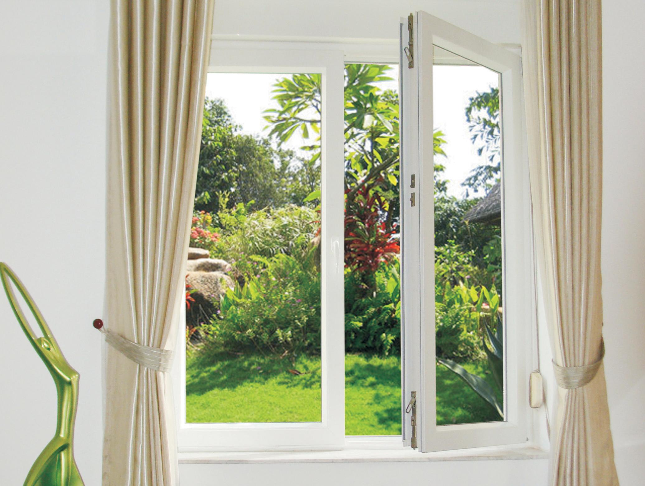Thiết kế nội thất theo phong cách đương đại tận dụng ánh sáng qua cửa sổ