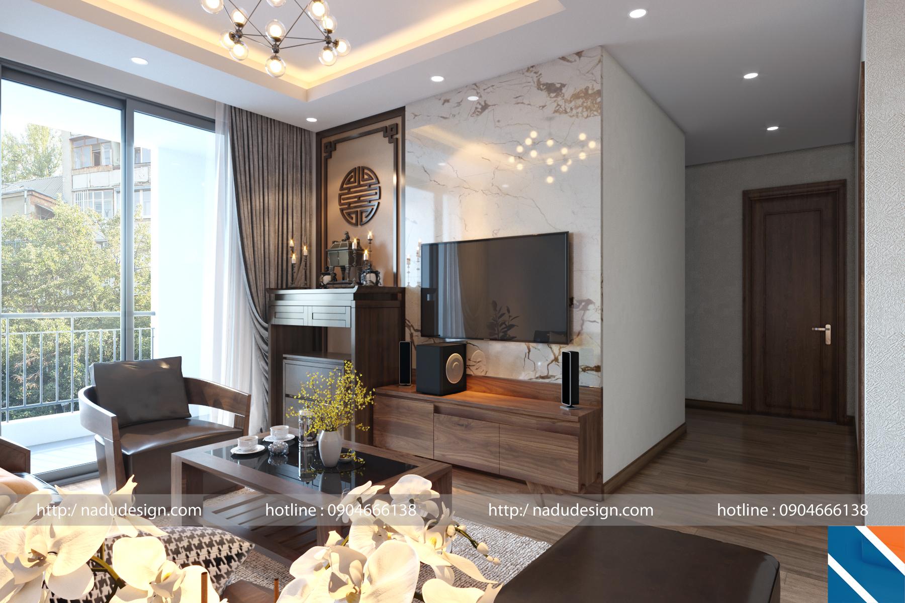 thiết kế nội thất truyền thống