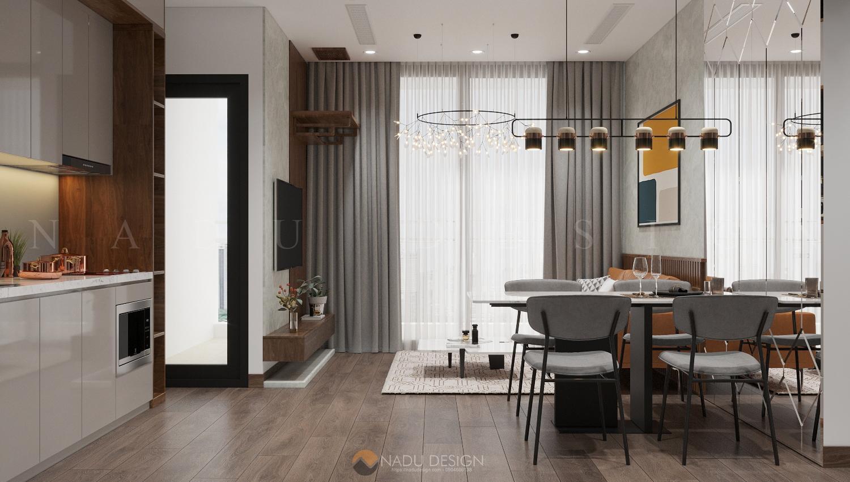 Thiết kế nội thất căn hộ chung cư Vinhome WestPoint