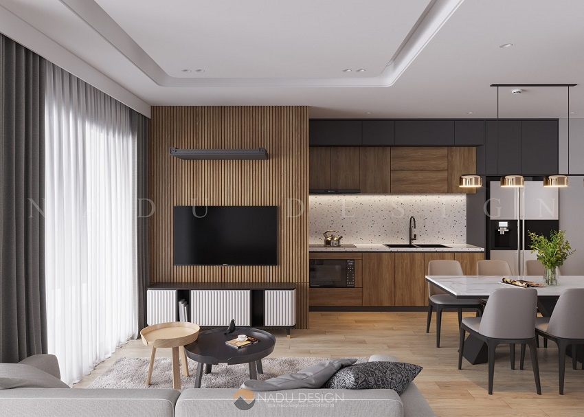 Thiết kế căn hộ tối giản mà NaDu đã thực hiện