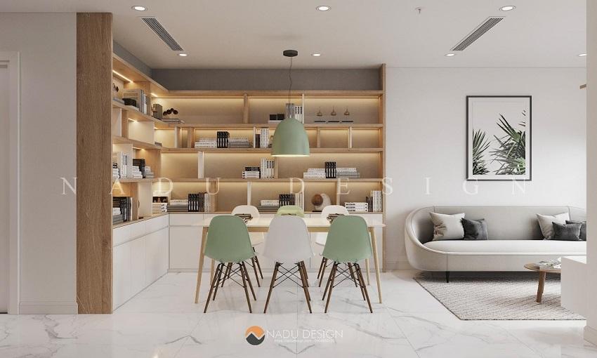 Căn hộ Bắc Âu mà NaDu đã thiết kế sẽ tập trung vào 3 phần chính: sự đơn giản, chức năng và cái đẹp.