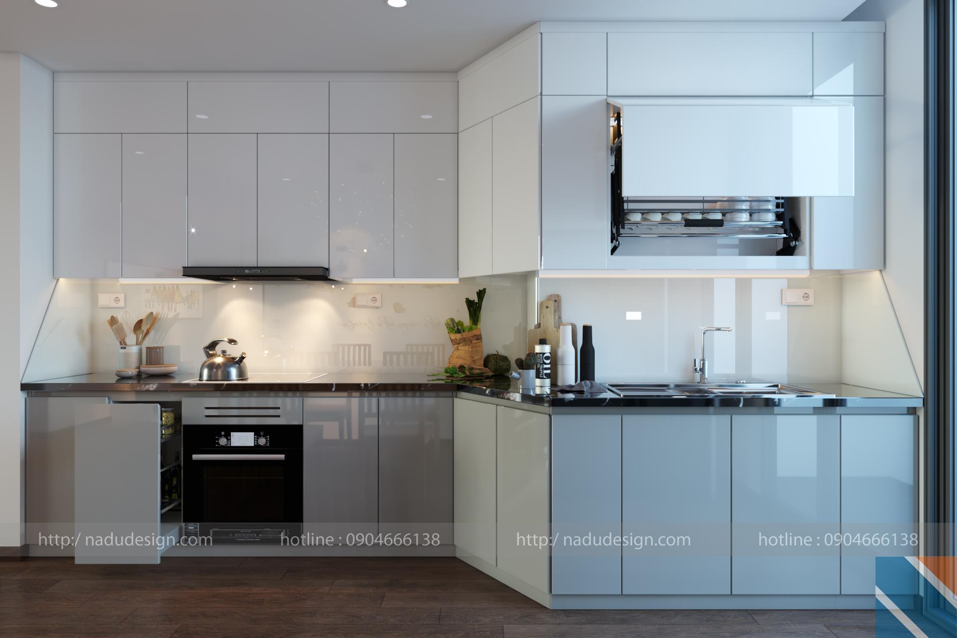Tủ bếp đẹp NaDu, ảnh 1