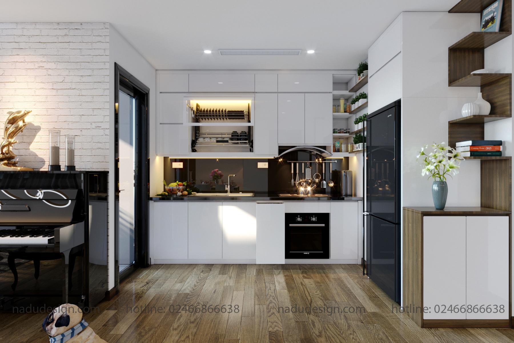 Tủ bếp đẹp NaDu ảnh 10