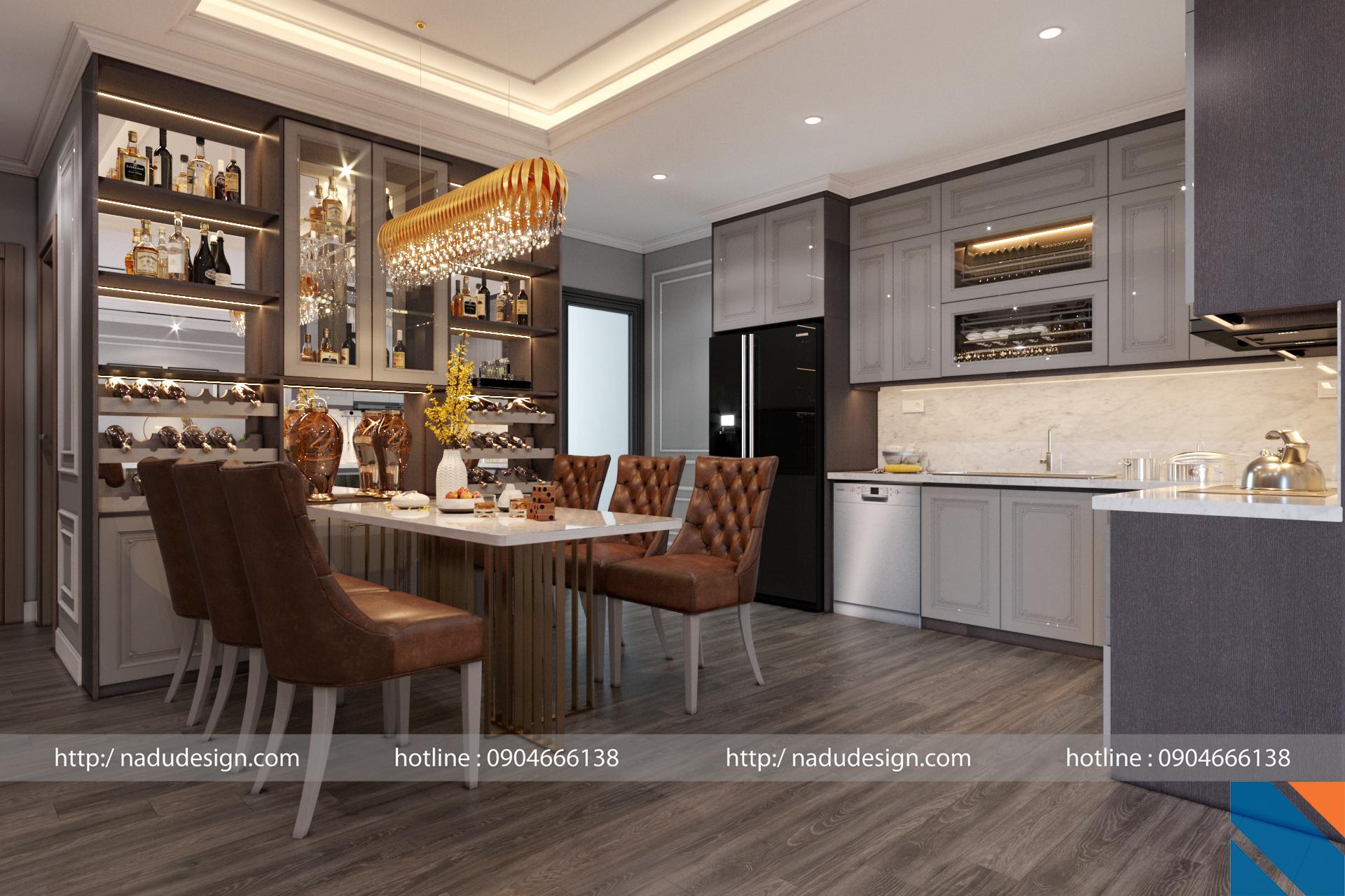 Tủ bếp đẹp NaDu ảnh 13