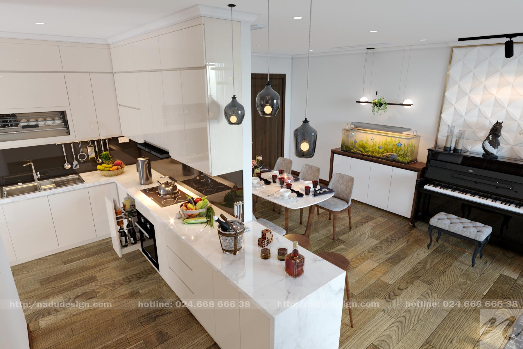 Tủ bếp đẹp NaDu ảnh 11