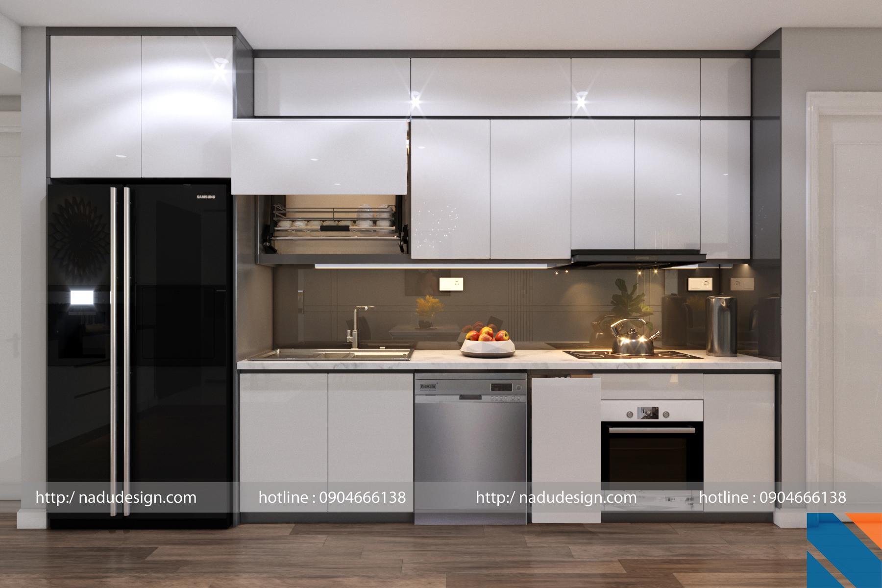 Tủ bếp đẹp NaDu ảnh 3