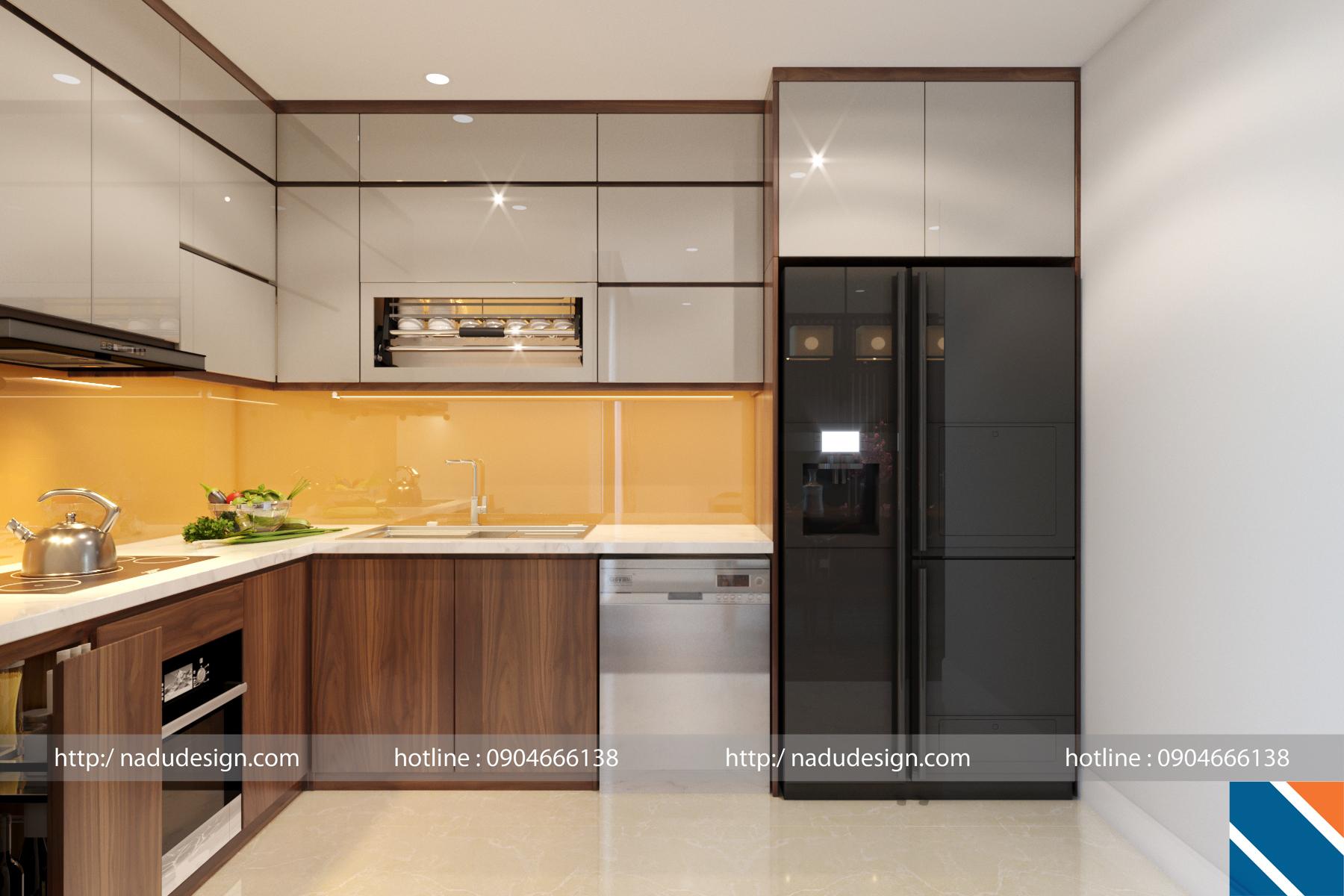 Tủ bếp đẹp NaDu ảnh 4