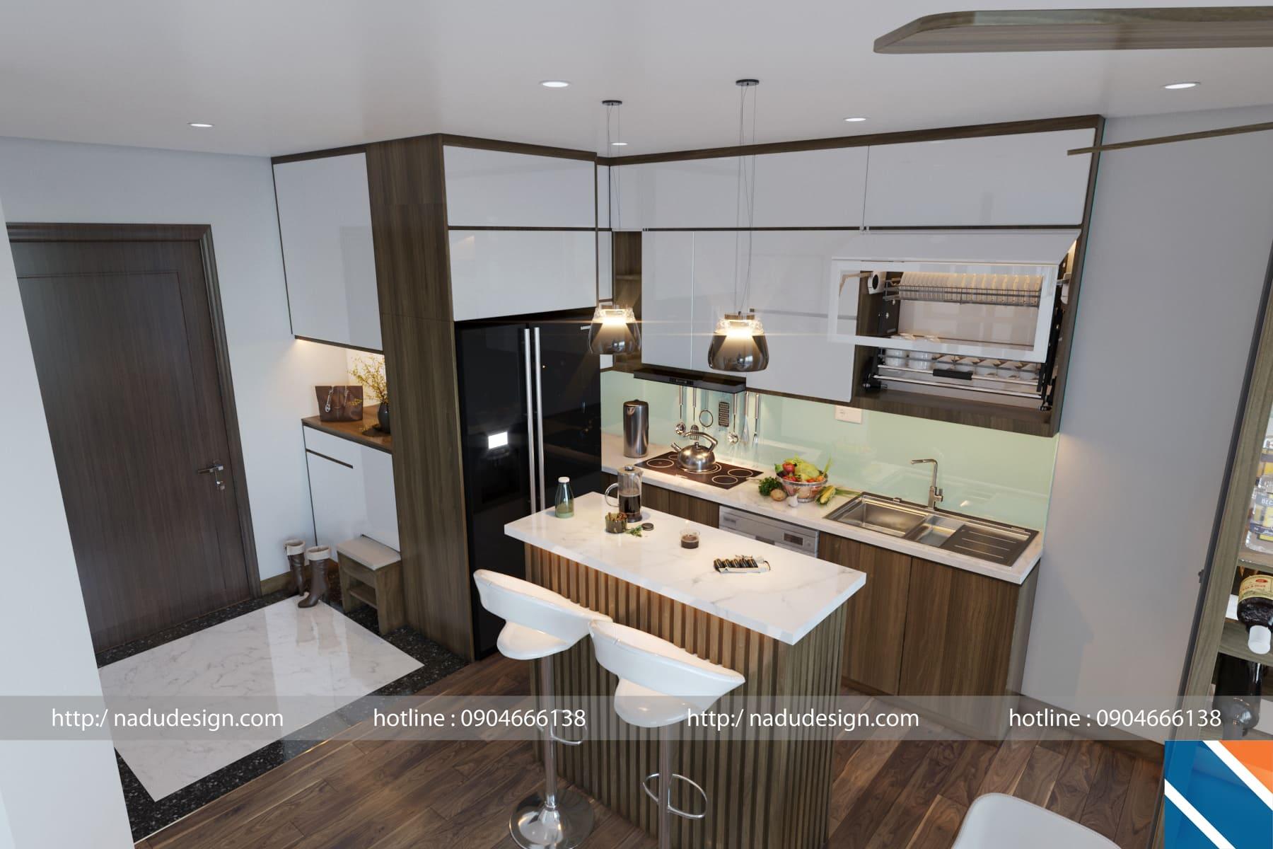 Tủ bếp đẹp NaDu ảnh 6