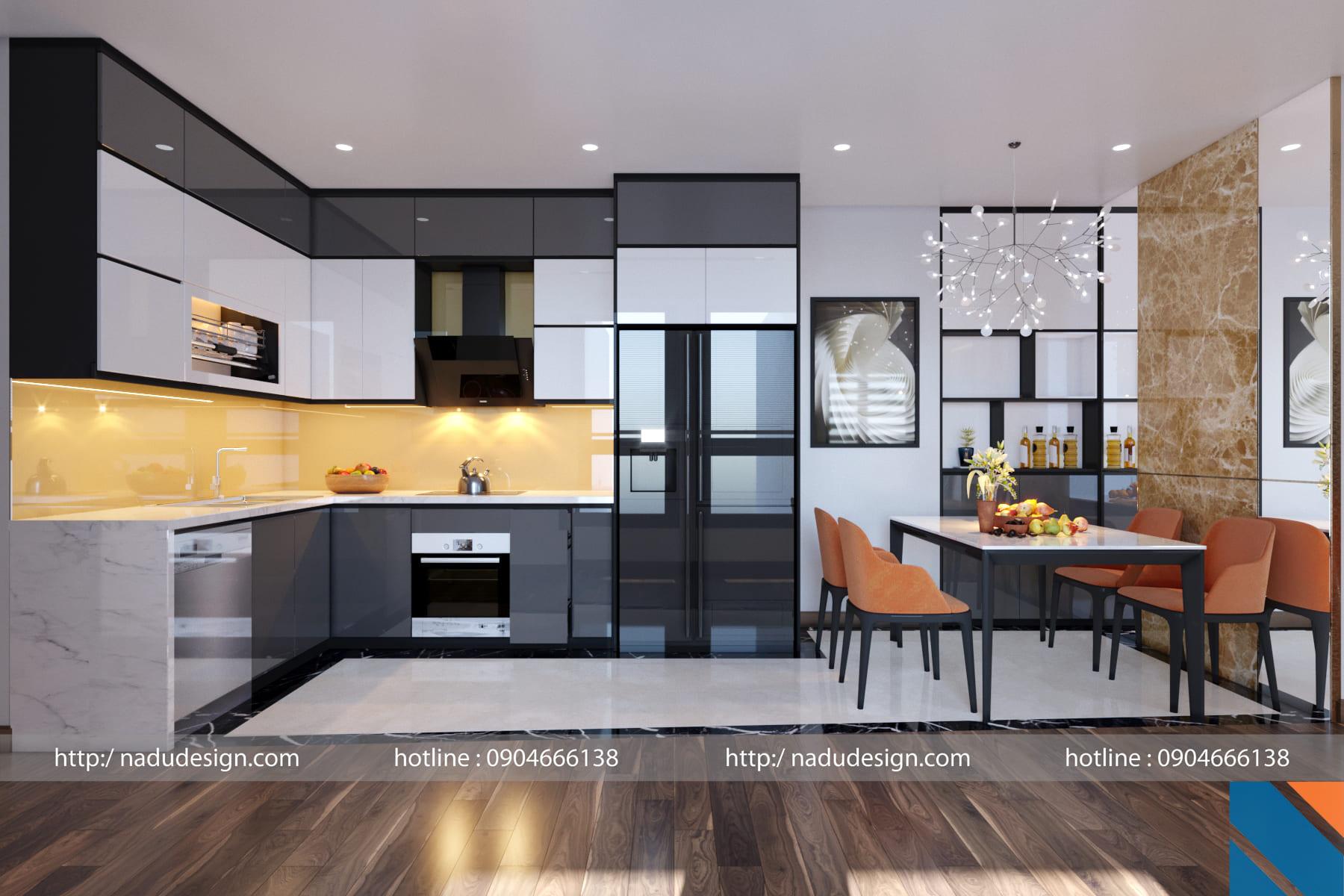 Tủ bếp đẹp NaDu ảnh 7