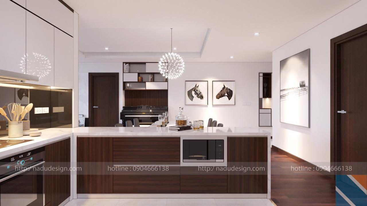 Tủ bếp đẹp NaDu ảnh 8