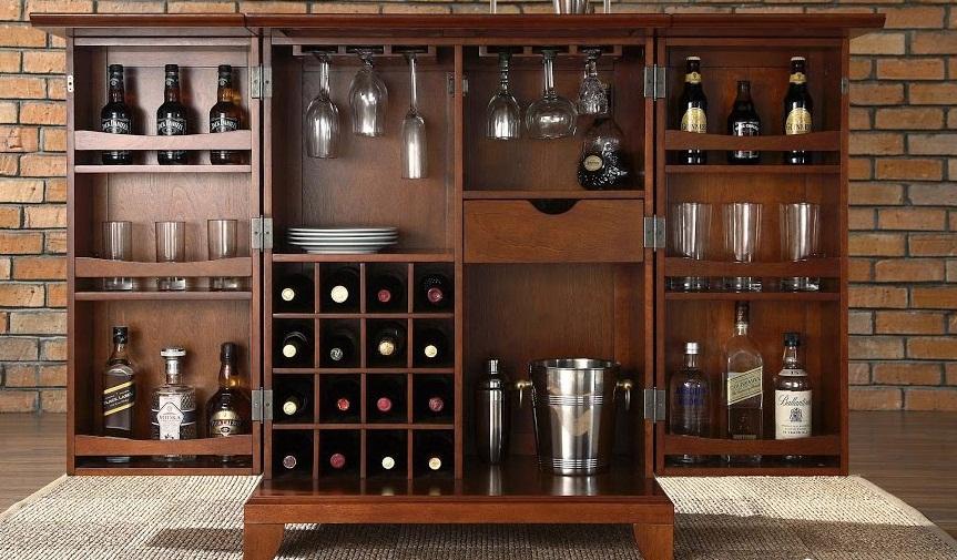 Lựa chọn tủ rượu phòng khách đẹp