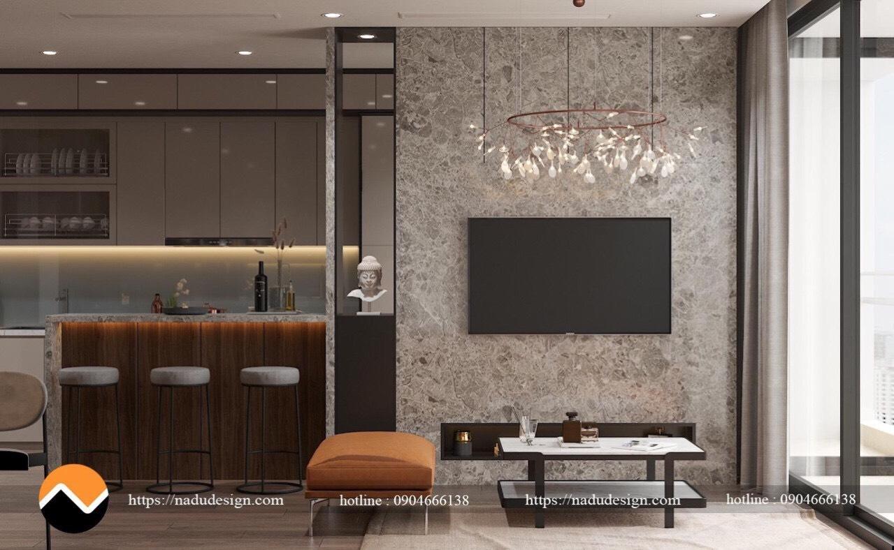 Đá - vật liệu nội thất hiện đại