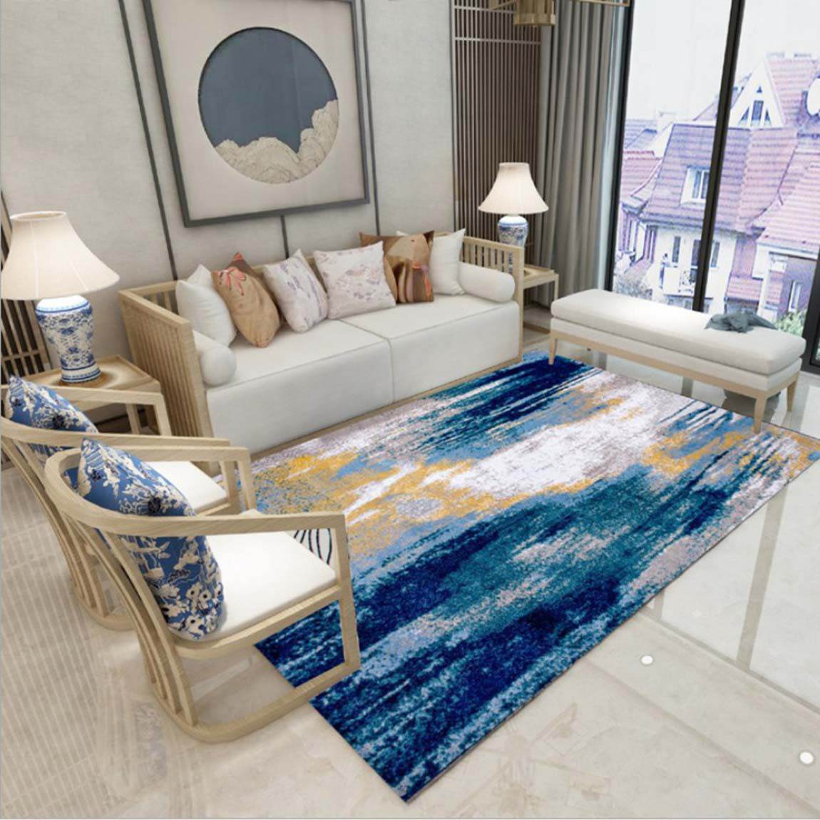 Lựa chọn vị trí thảm lông trải sàn phòng khách