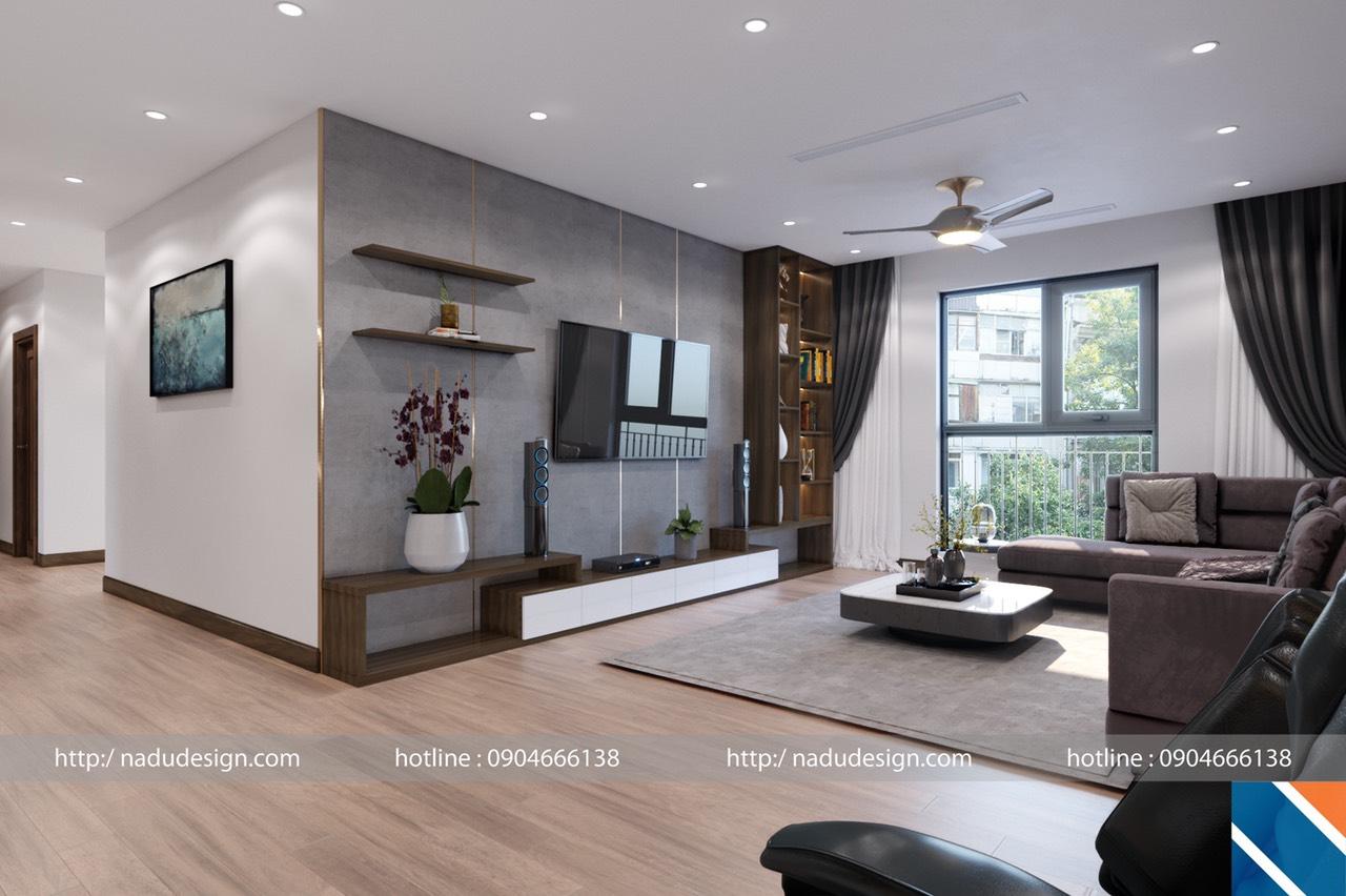 Xu hướng thiết kế nội thất chung cư gần gũi với thiên nhiên
