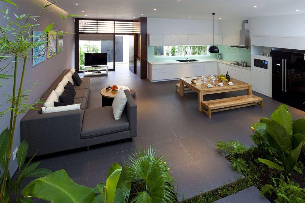 Xu hướng thiết kế nội thất vườn trong nhà