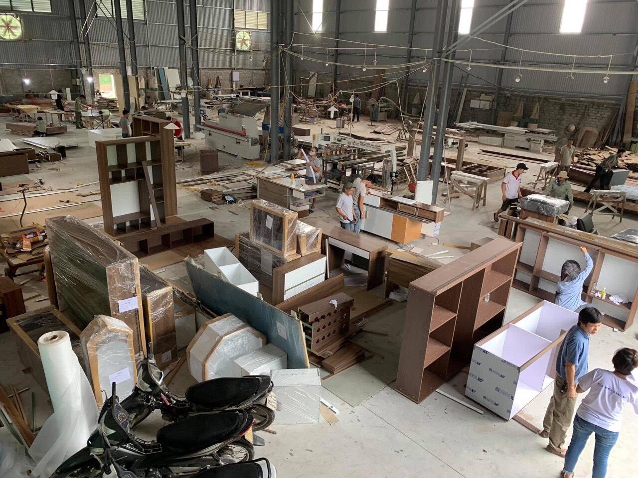 Xưởng gỗ thiết kế nội thất chung cư cao cấp NaDu