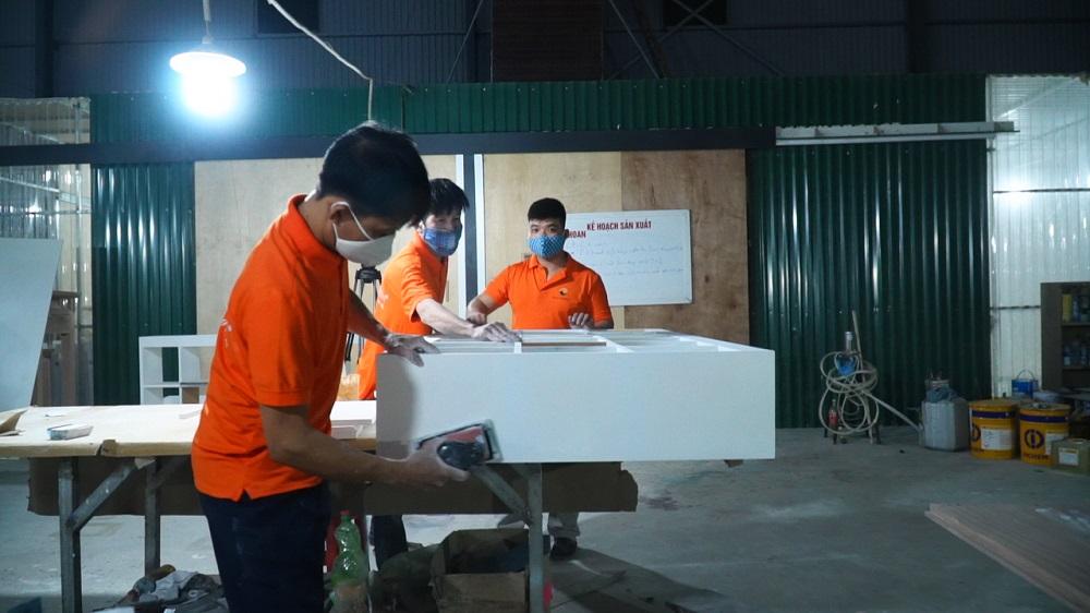 Xưởng gỗ sản xuất đảm bảo thời gian hoàn thiện sản phẩm