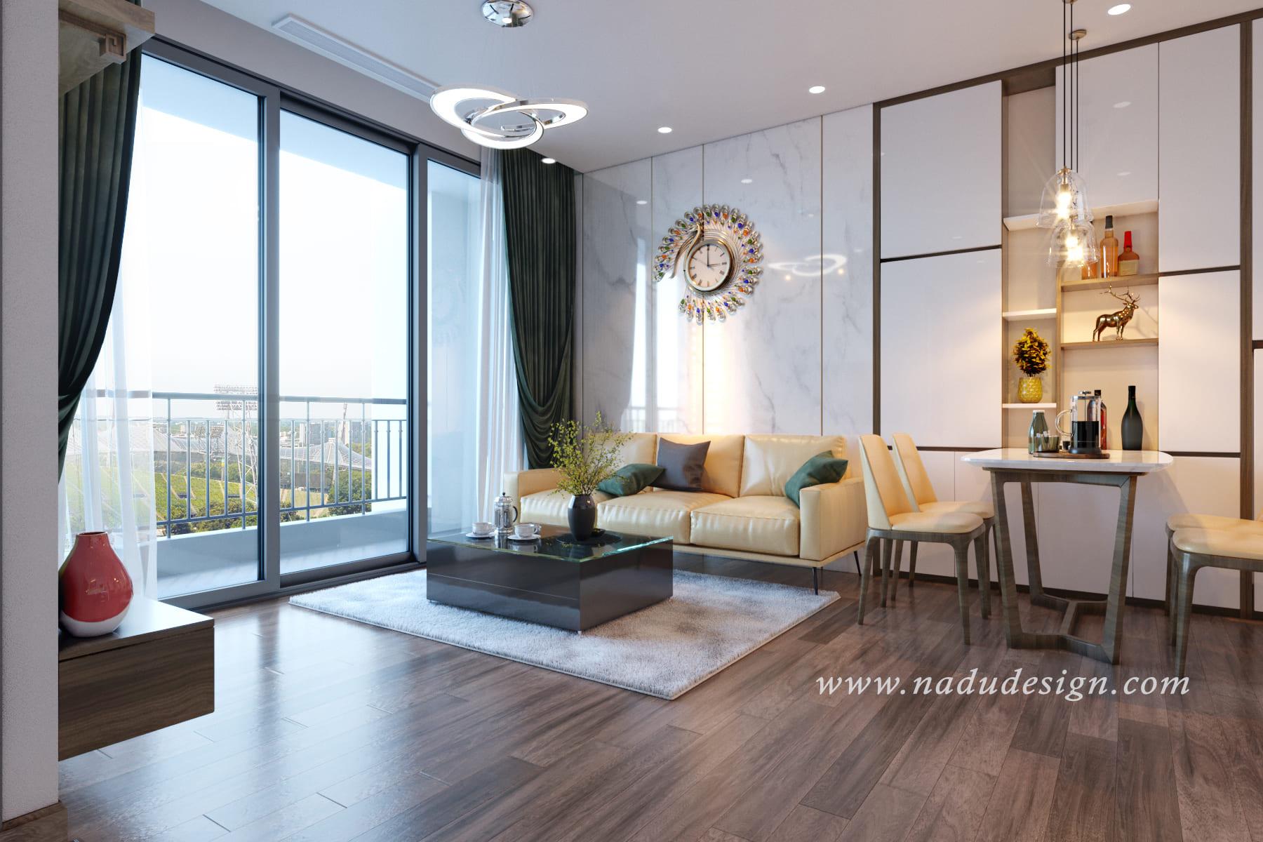 Mẫu thảm lông trải sàn phòng khách cao cấp đẹp ấn tượng