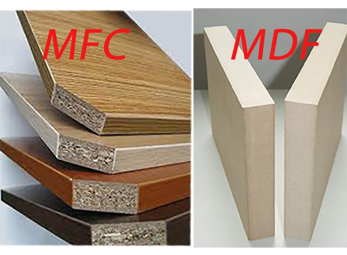 Hướng dẫn phân biệt ván gỗ MFC và MDF; Loại nào phù hợp với nhà của bạn?