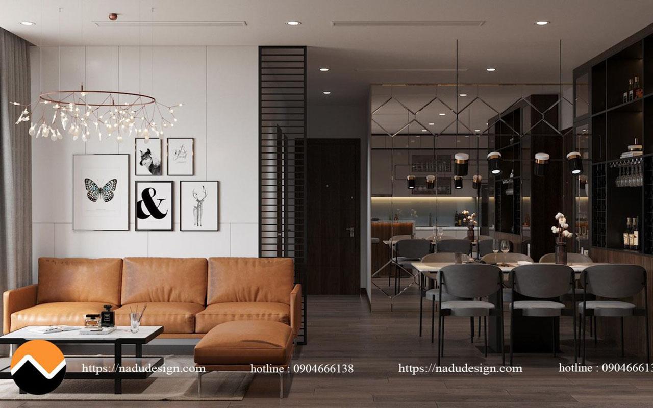 Thiết kế nội thất căn hộ Vinhomes West Point: Vẻ đẹp tinh tế và ấn tượng