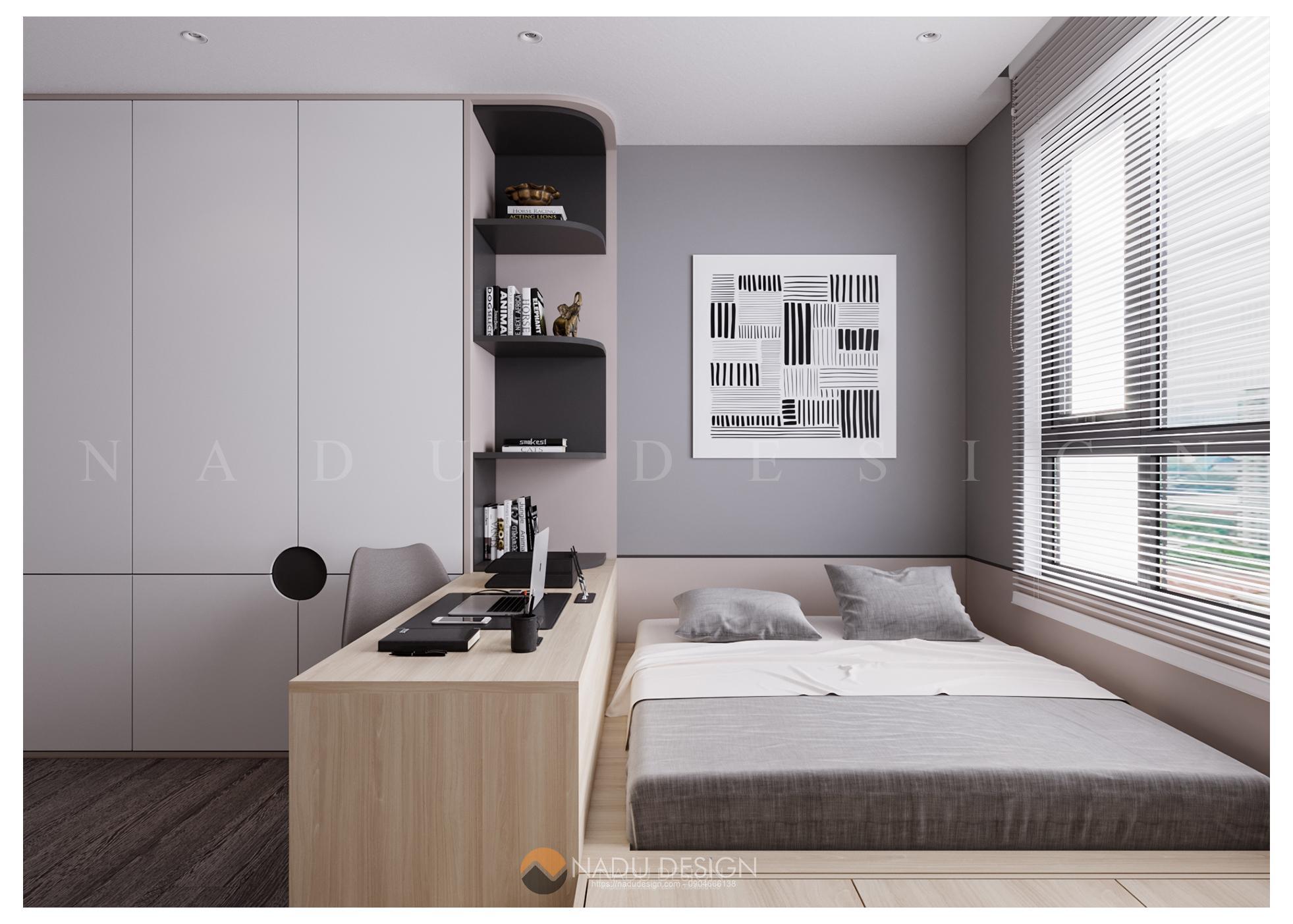 [MỚI NHẤT] Thiết kế phòng ngủ đơn giản đẹp cập nhật xu hướng liên tục