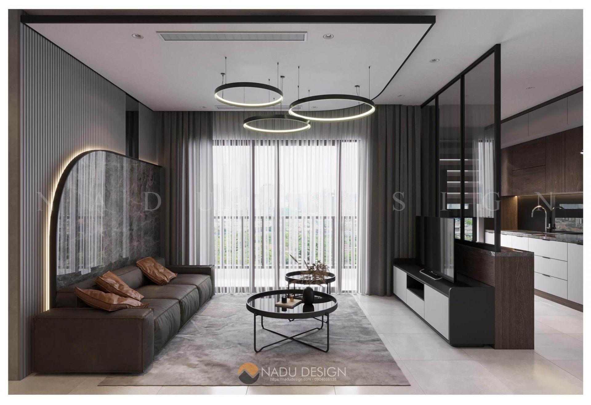 """Đón đầu xu hướng thiết kế nội thất chung cư 2 phòng ngủ """"hot"""" nhất hiện nay"""
