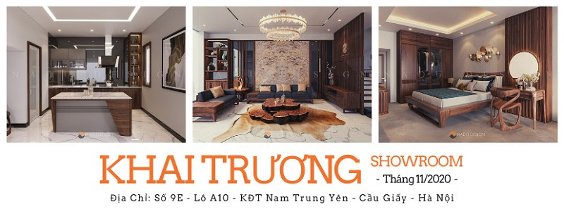 Háo hức chờ đón sự kiện khai trương showroom nội thất cao cấp NaDu Design