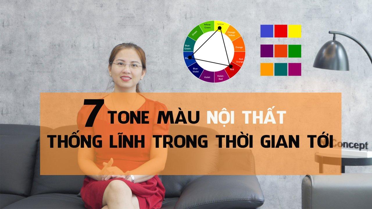 7 Tone màu hot trend xu hướng màu sắc nội thất 2021 - 2025
