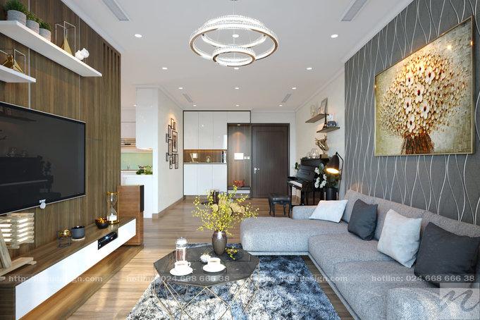 Nội thất căn hộ chung cư Vinhomes Gadenia 3 phòng ngủ cuốn hút