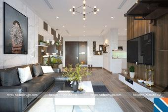 Nội thất căn hộ 3 phòng ngủ nhà anh Long chung cư Vinhome Gadenia