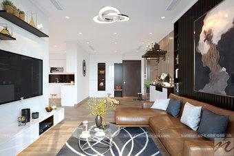 Thiết kế nội thất căn hộ chung cư cao cấp Vinhomes Gadenia