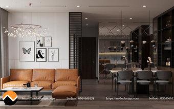 Thiết kế nội thất căn hộ Vinhomes WestPoint - Chị Hoa