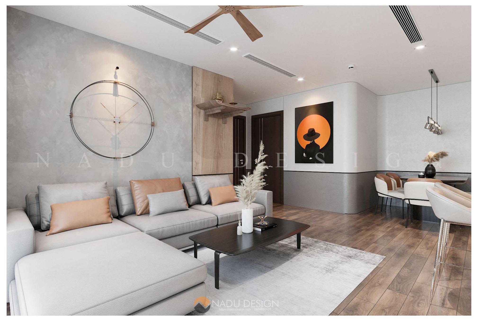 Thiết kế nội thất căn hộ chung cư Vinhome WestPoint W3