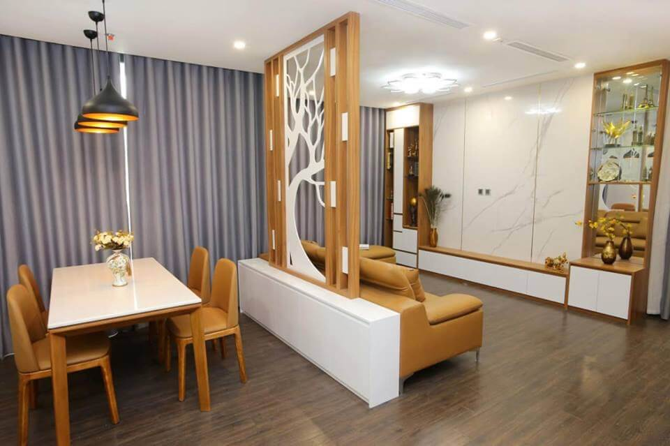Thi công thiết kế nội thất căn hộ Greenbay